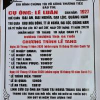 Thân phụ bạn Lê Văn Việt (ACC74)