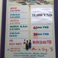Đặc sản lươn, hào sữa tại quán Thuỳ Dương Thành phố Đồng Hới Quảng Bình