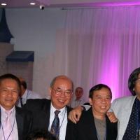 Bốn thằng học Pháp văn từ năm 1974: Trương Đình Trà, DqB, Huỳnh Thành Tài và Phạm Phi Hùng